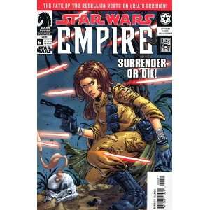 Star Wars Empire (2002) #6 Books