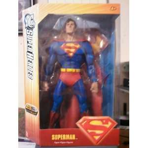 Dc Super Heroes Superman Figure Sc Select Sculpt Toys