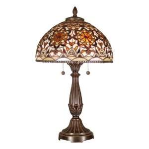 Dale Tiffany TT101368 Golden Theresa Table Lamp, Antique