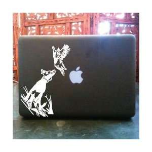 Bird dog laptop skin vinyl decal