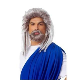 The Most Interesting Man In The World Grey Costume Wig