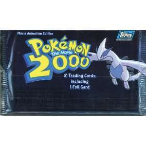 Topps Pokemon The Movie 2000 Trading Card Pack Toys