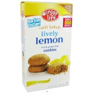 Enjoy Life Lively Lemon Cookies 6oz. (Pack of 3
