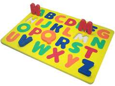 kid toys Shape Fridge Magnets Jigsaw foam puzzle mat