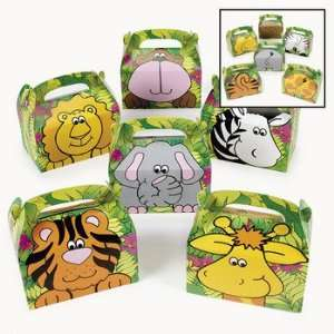 Zoo Animal Treat Boxes   Party Favor & Goody Bags & Paper