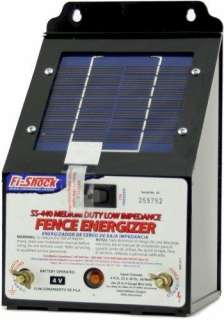 Low Impedance Medium Duty Electric Fence Energizer 5 Mile Range