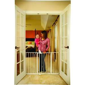 Extra Wide Walk   Thru Metal Safety Gate / baby/child/pet/Dog PRESSURE