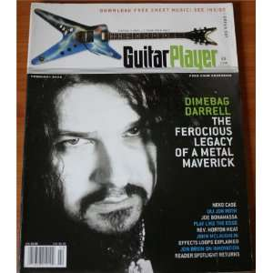 Guitar Player Dimebag Darrell Vol. 40, No. 2 CMP Books