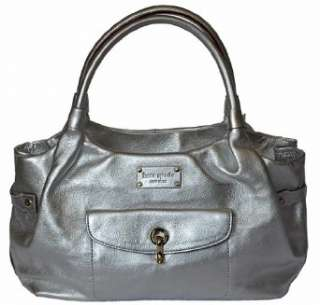 Kate Spade Silver Leather Stevie Bag   Kent collection Clothing