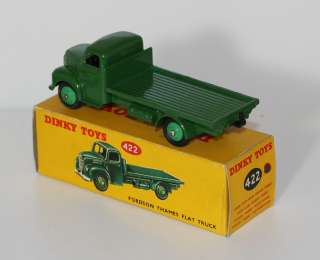 DINKY TOYS 422 FORDSON TRUCK MEDIUM GREEN MIB