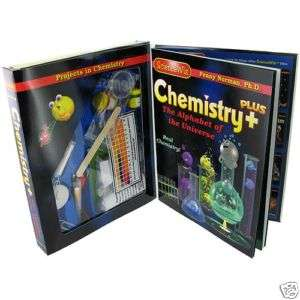 SCIENCEWIZ CHEMISTRY PLUS EDUCATIONAL KIDS SCIENCE KIT
